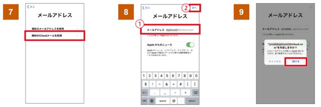 Y!mobile「ワイモバイルスマホ初期設定方法AppleID」③