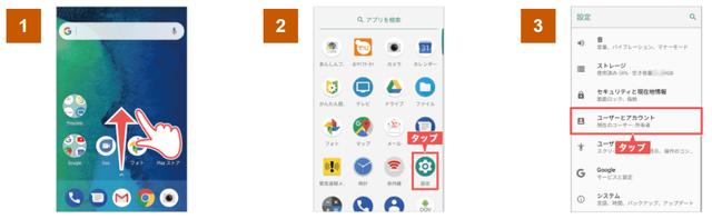 Y!mobile「ワイモバイルスマホ初期設定方法AndroidGoodleアカウント登録」①