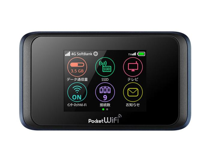 Pocket WiFi 502HW|Y!mobile