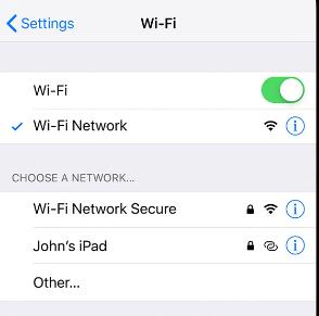 Apple「iPhone、iPad、iPod touch で Wi-Fi に接続する」