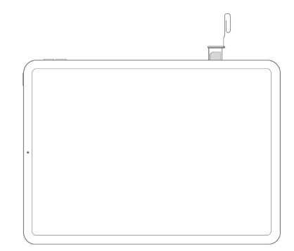Apple「iPhone や iPad の SIM カードを取り出す/差し替える」