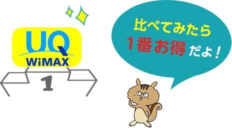 【結論】おすすめのポケットWiFiは『UQ WiMAX』一択!