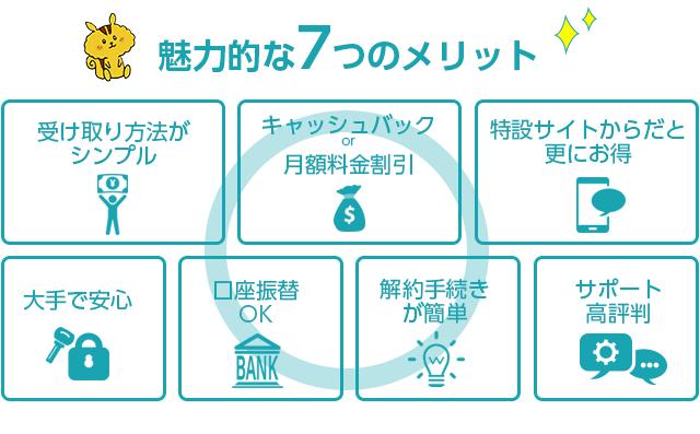 BIGLOBE WiMAX2+を選んだ場合の魅力的な7つのメリット