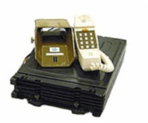NTTドコモ歴史展示スクエア「自動車電話」