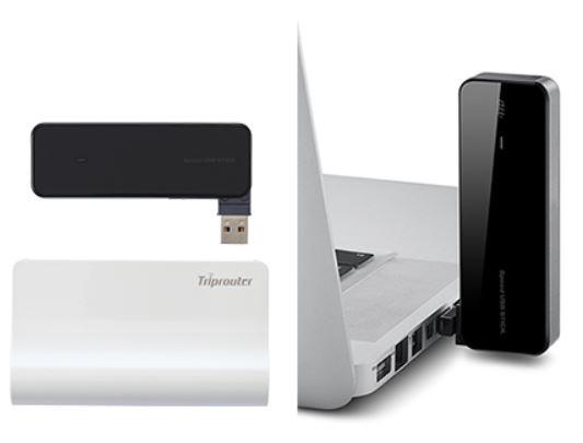 Speed USB STICK U01+Triprouter