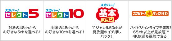 スカパー!/ドコモ光テレビオプション