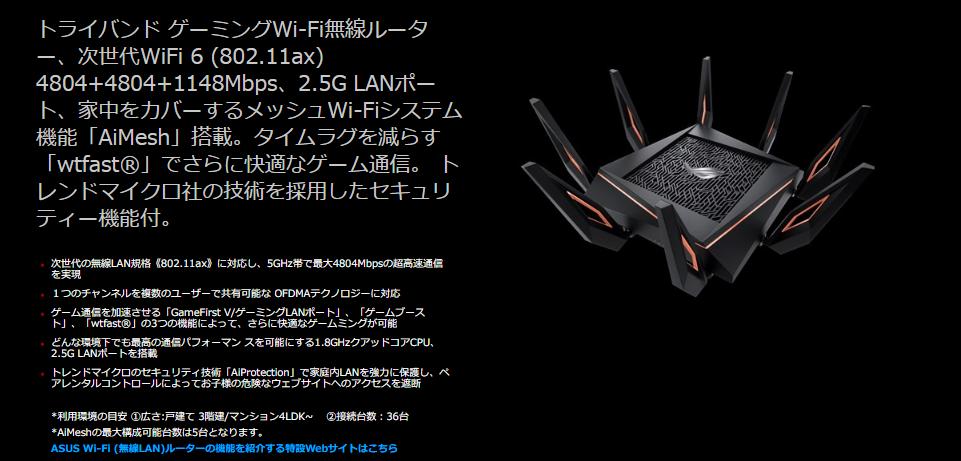 ROG Rapture GT-AX11000|ASUS