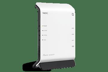 NECのWi-Fiルーターとしてはローエンドモデル