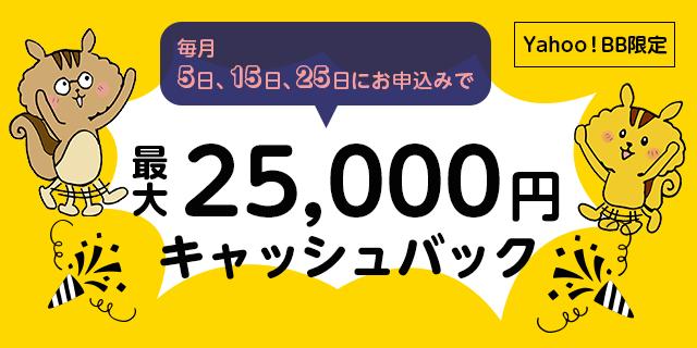 SoftBank光 キャッシュバックキャンペーン