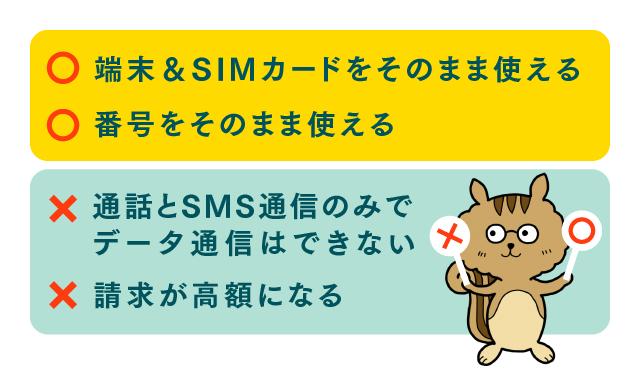 格安SIM 海外 メリット デメリット