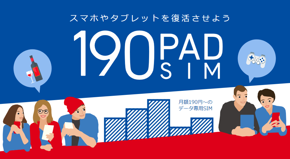 b-mobile|190 Pad SIM