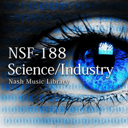 NSF-188 75-Science/Industry