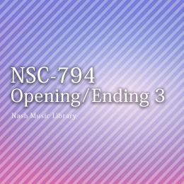 NSC-794 98-Opening/Ending 3