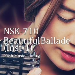 NSK-710 Beautiful Ballade/Instrumental (1)