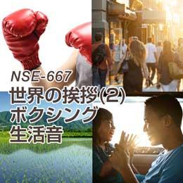 NSE-667 57-世界の挨拶(2)・ボクシング・生活音