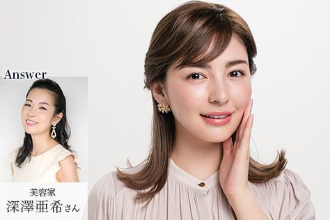 モデル スミス楓さん、Answer 美容家 深澤亜希さん