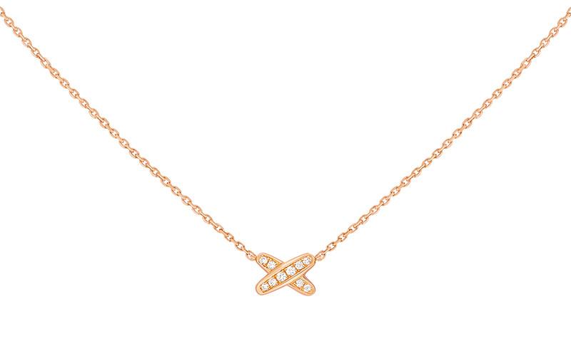 「リアン・ドゥ・ショーメ」ミニリアン ペンダント(PG×ダイヤモンド)¥220,000