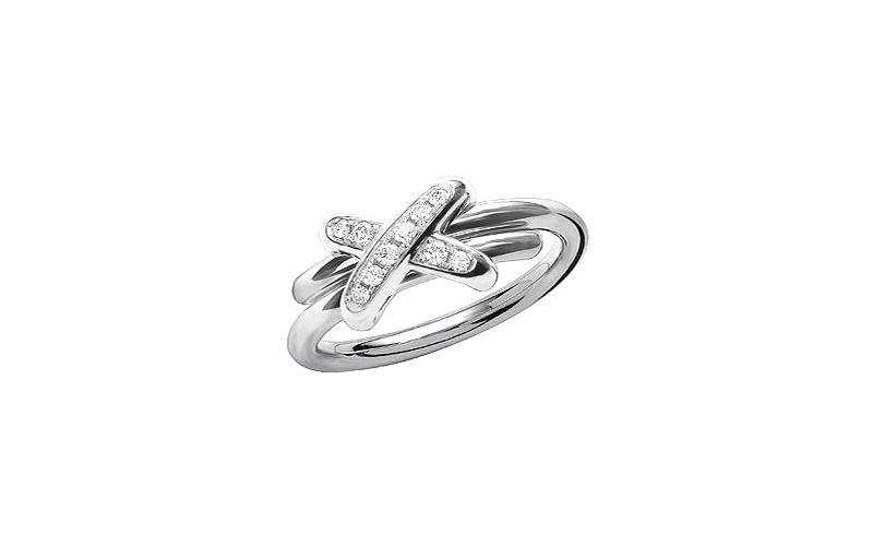 「リアン・ドゥ・ショーメ」プルミエ・リアン リング(WG×ダイヤモンド)¥275,000