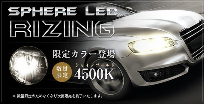 【数量限定】RIZING限定カラー販売開始!