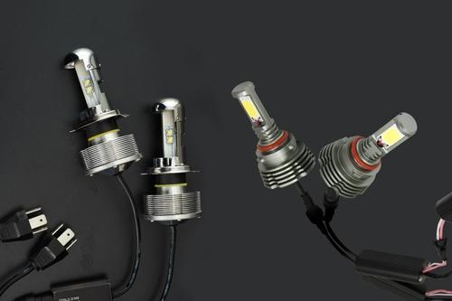 LEDヘッドライト、LEDフォグライト