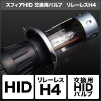 HID交換用バルブ H4 Hi/Lo リレーレス [SHDLC] / ¥9,500/HIDキット LEDヘッドライト販売のスフィアライト