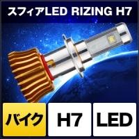 日本製 バイク用LEDヘッドライト RIZING H7 [SHBQD] / ¥12,800/HIDキット|LEDヘッドライト販売のスフィアライト