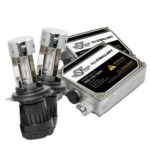 HIDコンバージョンキット クラシックバラスト 35W H4 Hi/Lo リレーレス 12V用 8000K [SHDEC0801] / ¥14,800/HIDキット|LEDヘッドライト販売のスフィアライト