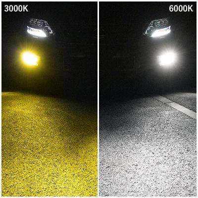 フォグ用LED デュアルカラーモデル PSX26W  [SHKNX2] / ¥17,000/HIDキット|LEDヘッドライト販売のスフィアライト