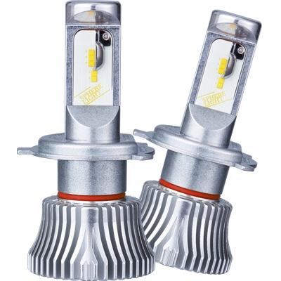 日本製LEDヘッドライト RIZING2 H4 Hi/Lo 12V用 3200K [SRH4A032] / ¥25,800/HIDキット|LEDヘッドライト販売のスフィアライト