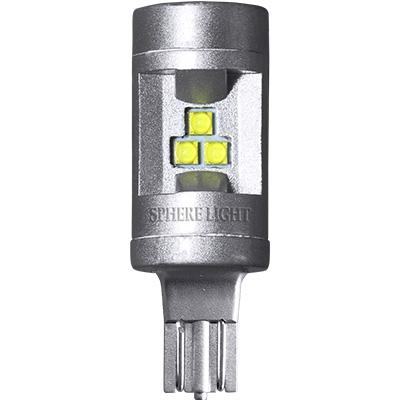 バックランプ専用LED SUNBACK (サンバック) T16  6000K [SBVT16] / ¥3,900/HIDキット|LEDヘッドライト販売のスフィアライト