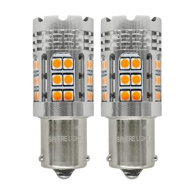 ウィンカー専用LED SUNTURN(サンターン) S25シングル ピン角150° [STS25-150] / ¥7,000/HIDキット|LEDヘッドライト販売のスフィアライト