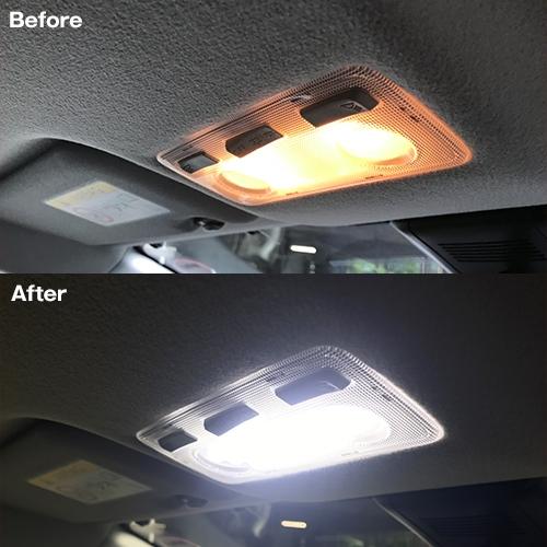 アクアNHP10 後期専用 LEDルームランプセット  [SLRM-19] / ¥3,980/HIDキット|LEDヘッドライト販売のスフィアライト