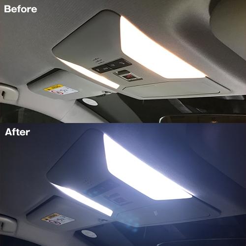 RAV4専用 LEDルームランプセット   [SLRM-20] / ¥4,980/HIDキット|LEDヘッドライト販売のスフィアライト