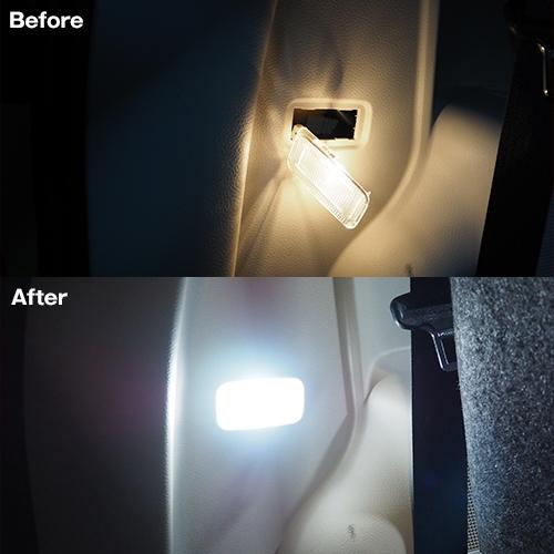 シエンタ170系専用 LEDルームランプセット  [SLRM-21] / ¥4,980/HIDキット LEDヘッドライト販売のスフィアライト
