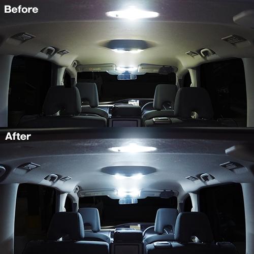セレナC27専用 LEDルームランプセット  [SLRM-05] / ¥3,980/HIDキット LEDヘッドライト販売のスフィアライト