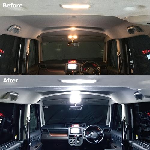 ルーミー/タンク/トール/ジャスティ専用 LEDルームランプセット  [SLRM-07] / ¥3,980/HIDキット LEDヘッドライト販売のスフィアライト