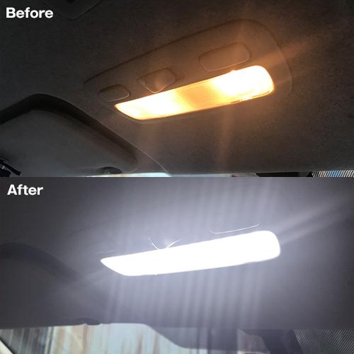 ハイエース/レジアスエース200系専用 LEDルームランプセット  [SLRM-04] / ¥5,980/HIDキット|LEDヘッドライト販売のスフィアライト