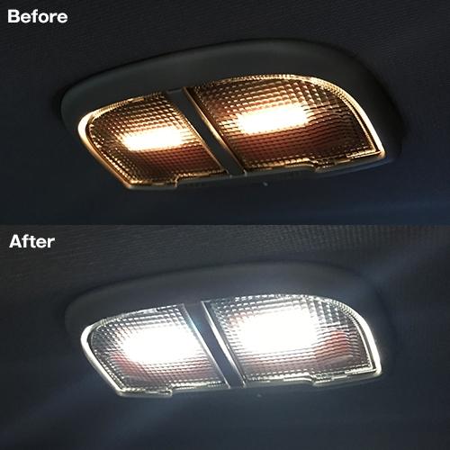 レヴォーグ専用 LEDルームランプセット  [SLRM-17] / ¥4,980/HIDキット|LEDヘッドライト販売のスフィアライト