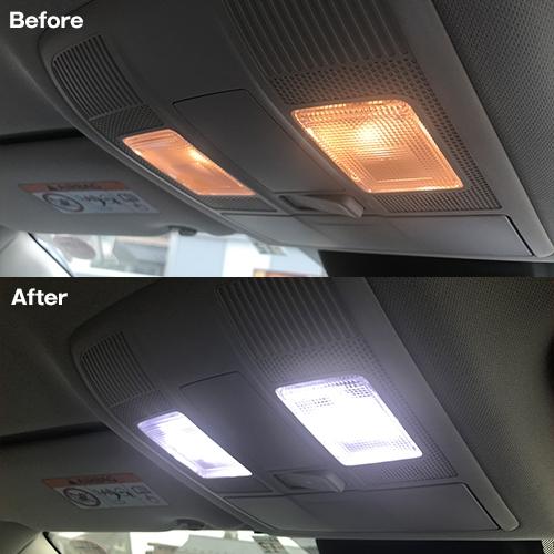 CX-5 KE・KF系/アテンザ セダン・ワゴン GJ系専用 LEDルームランプセット  [SLRM-14] / ¥4,980/HIDキット|LEDヘッドライト販売のスフィアライト