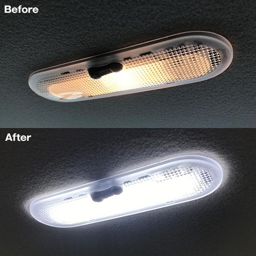 キックス専用LEDルームランプセット  [SLRM-26] / ¥3,480/HIDキット|LEDヘッドライト販売のスフィアライト