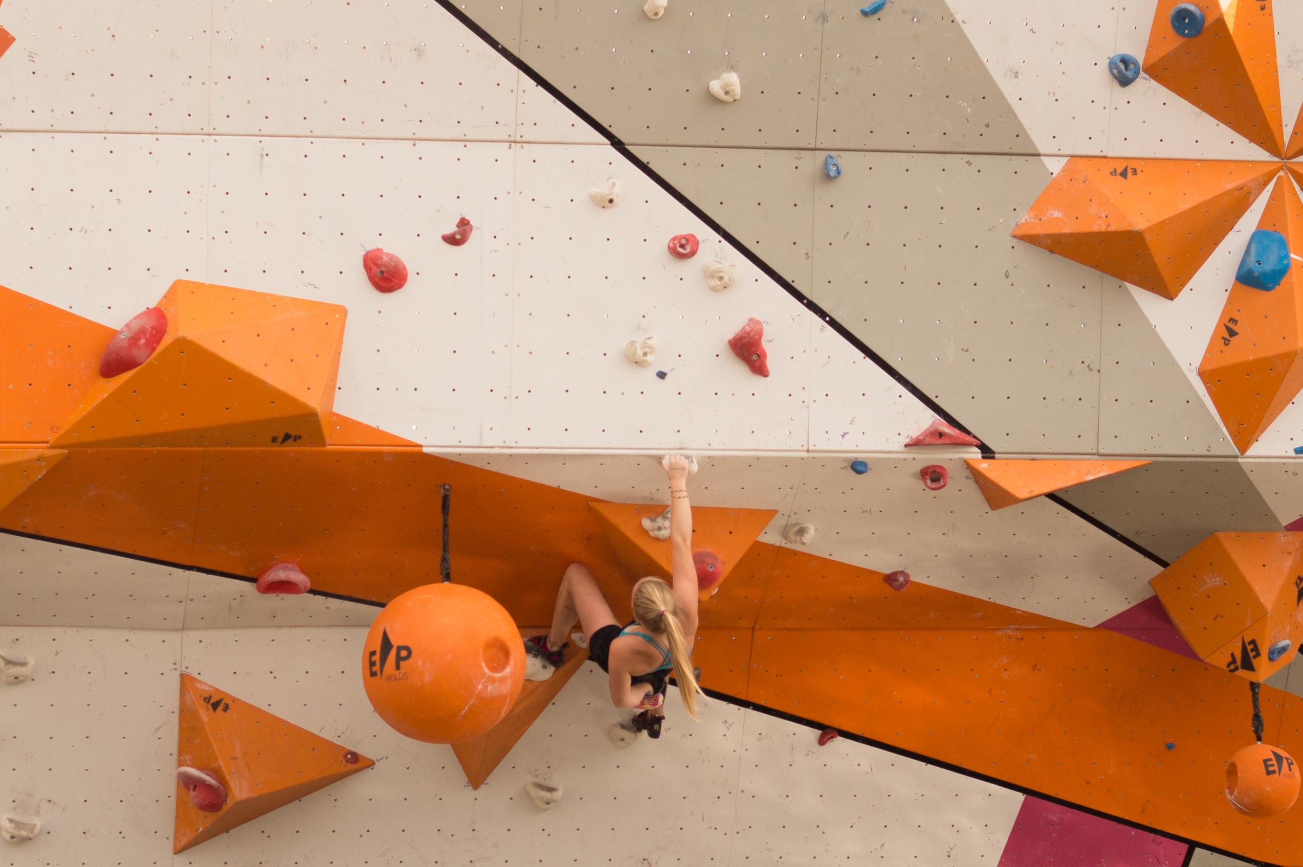 Freeclimbing olympics
