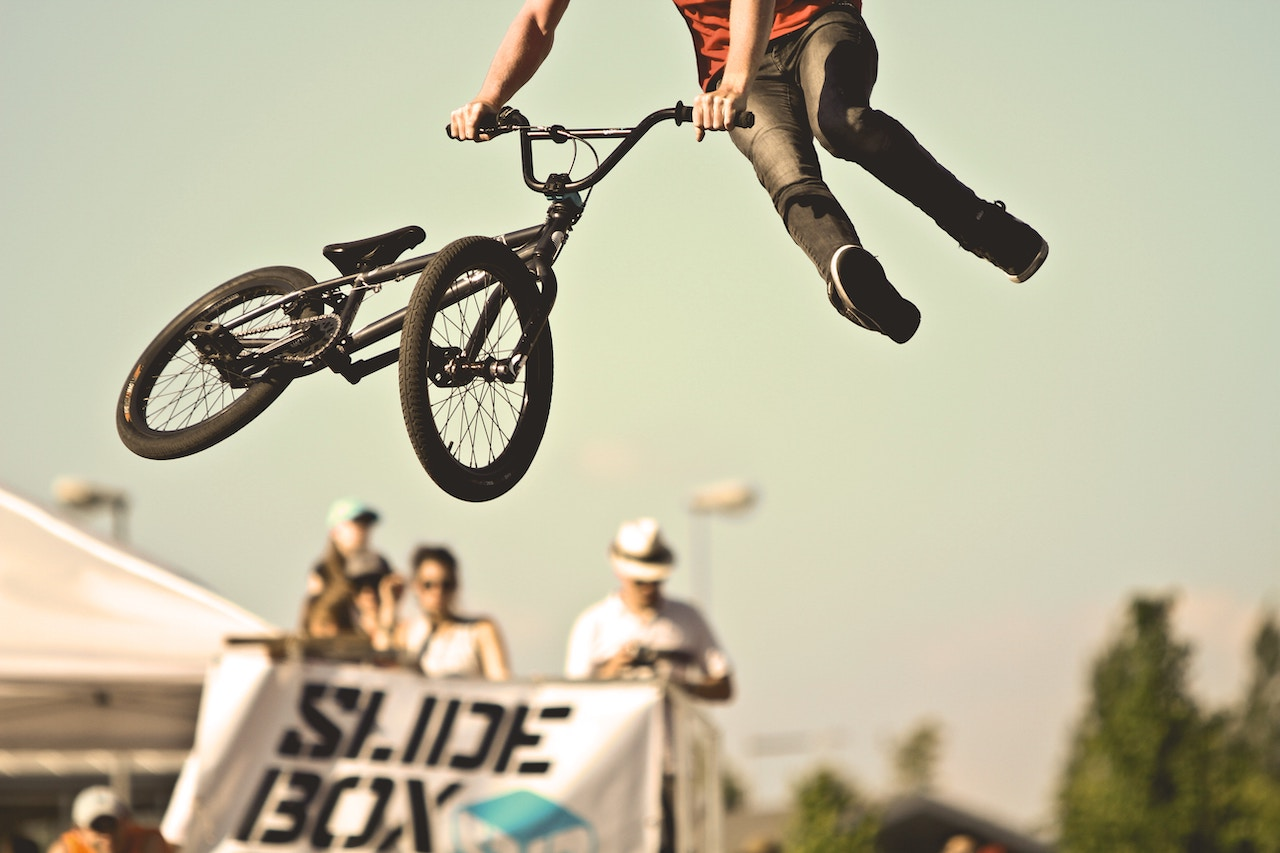 Sports spoit eyecatch bmx rule