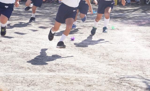 Sports spoit eyecatch footrace rule