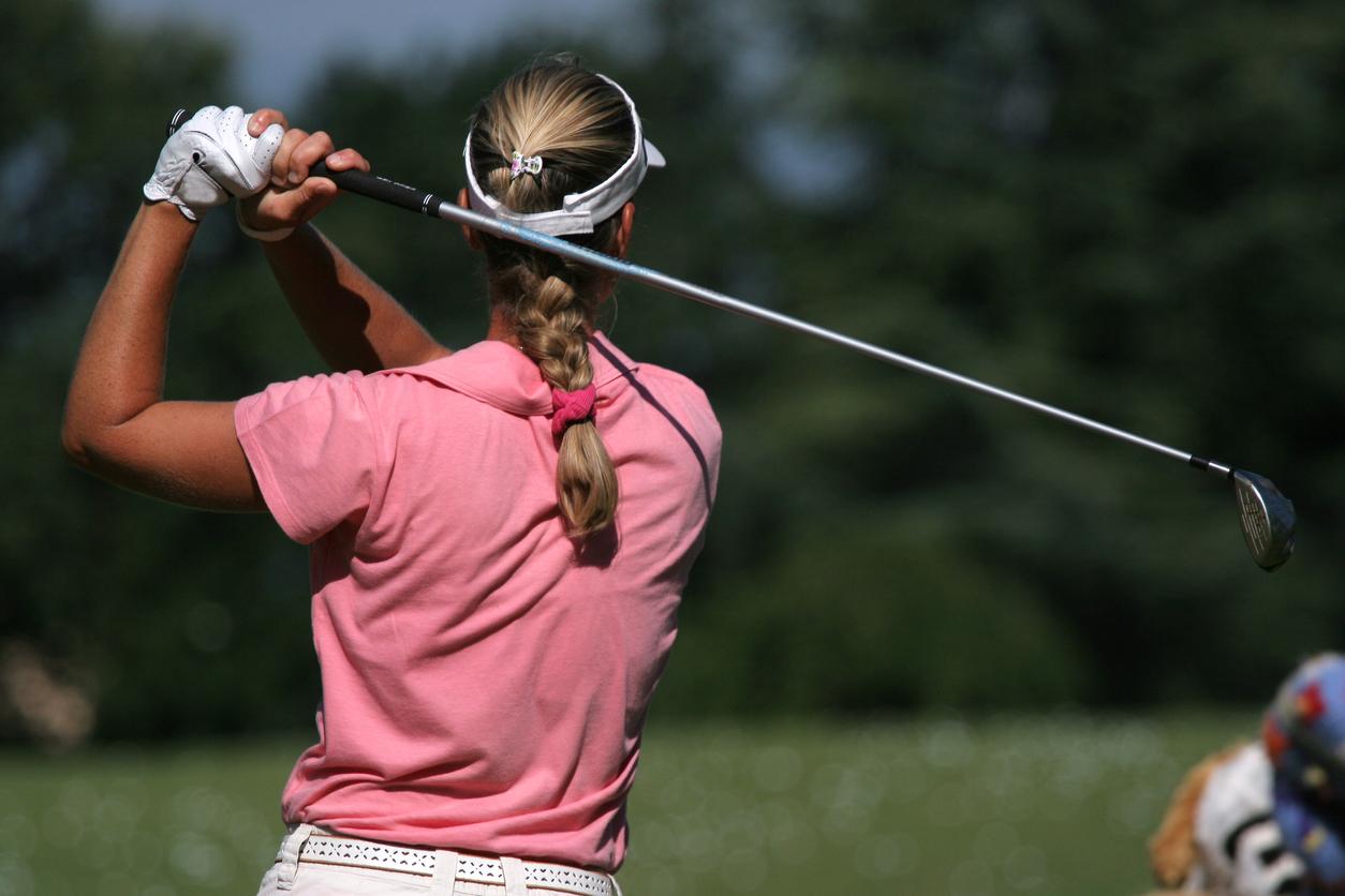 Sports spoit eyecatch golf hairstyle rule