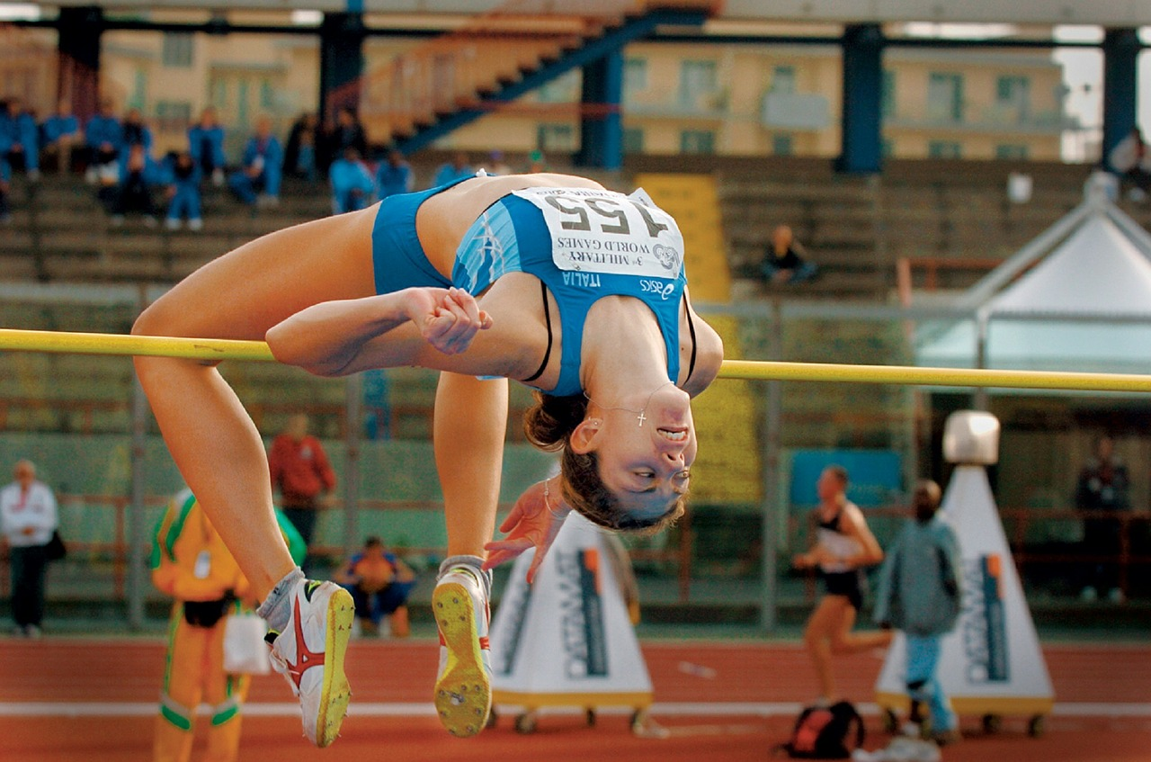 Sports spoit eyecatch jumping competition rule
