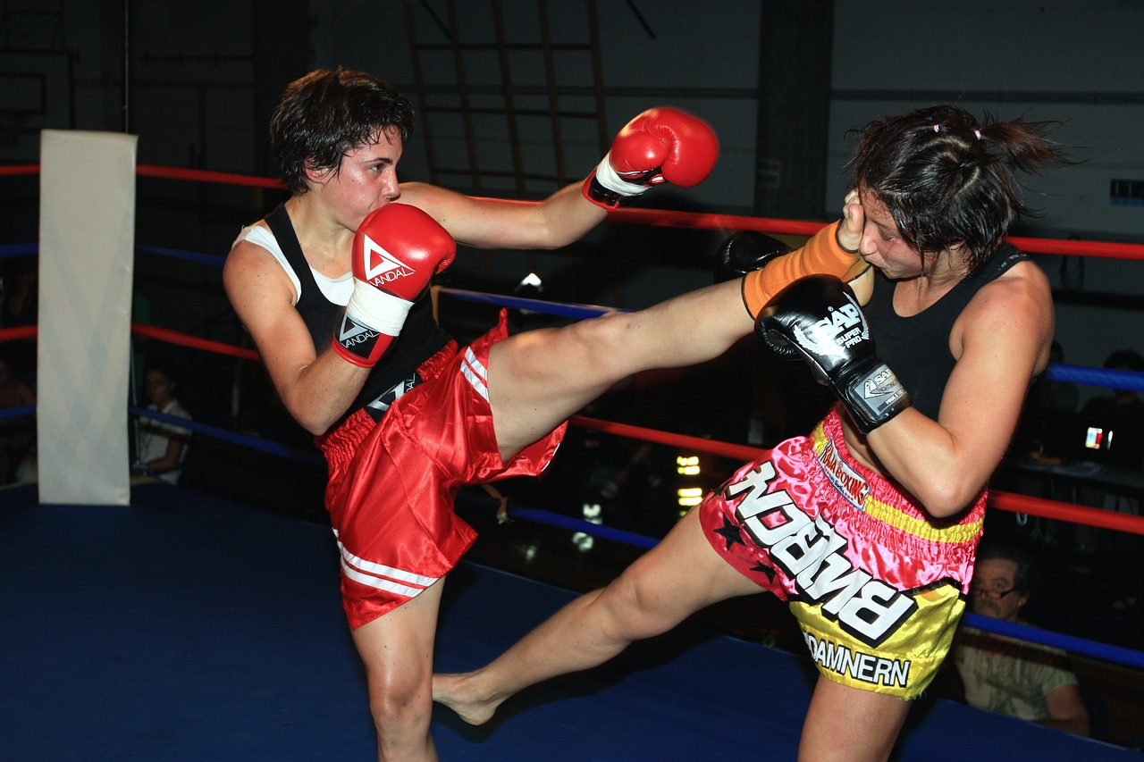 Sports spoit eyecatch kick boxing rule