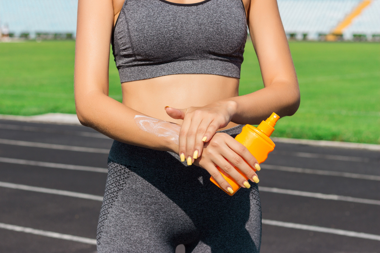 Sports spoit eyecatch recommended sunscreen for running