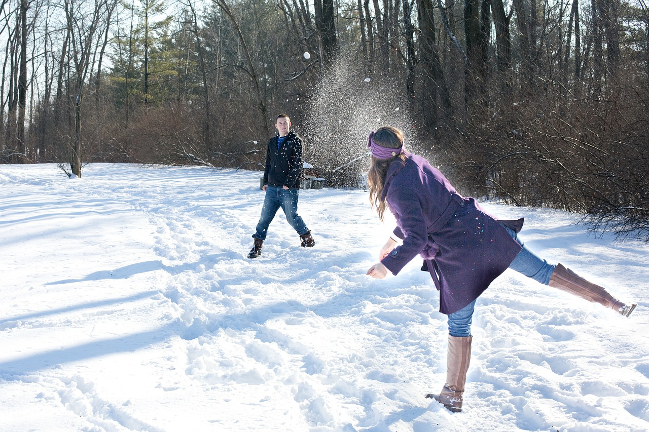 Sports spoit eyecatch snowball fight rule