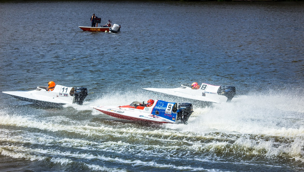 Sports spoit eyecatch speedboat race rule