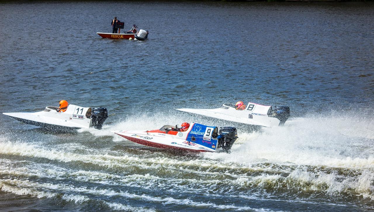 Sports spoit eyecatch speedboat race rule